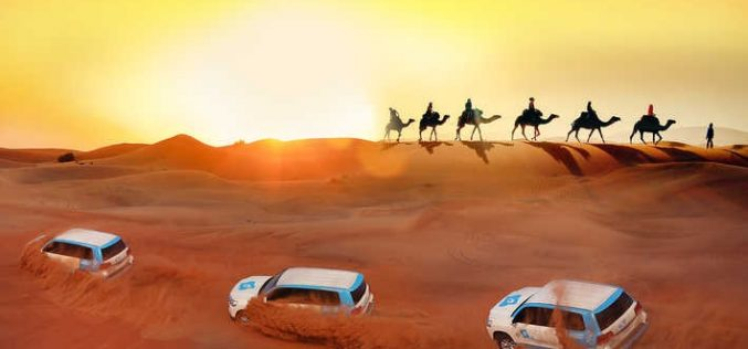 Belly Dance Show and evening Desert Safari: